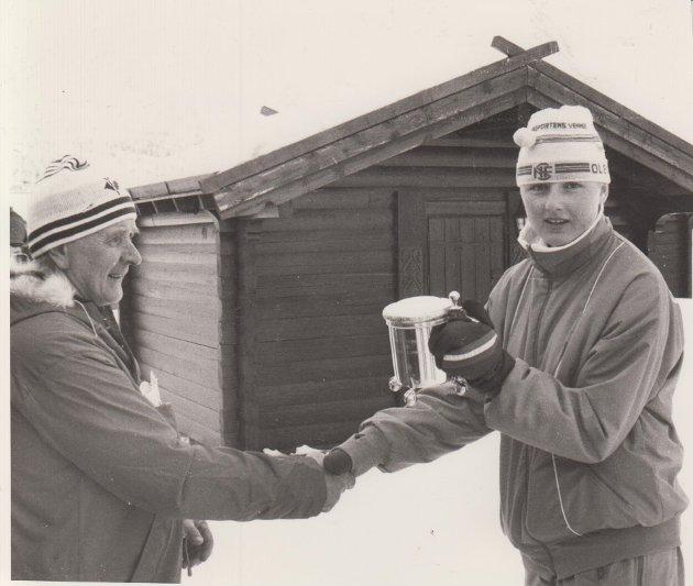 Tina Bay på Maursetrennet i 1988.