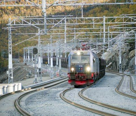 Ønsker jernbane i nord.