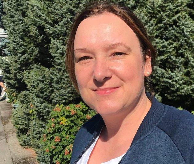 Ida Høiby er tillitsvalgt for Norsk Sykepleierforbund i Innlandet.