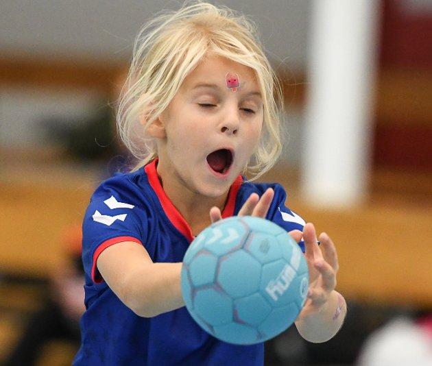 Halden Håndballforening arrangerer håndballskole i Hjortsberghallen i høstferien.