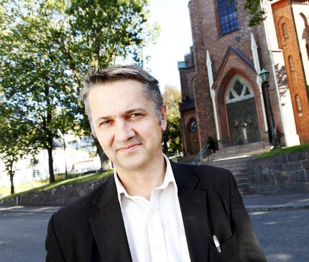 LUKKET: Så var kirkedøra stengt, og det var nesten ikke til å holde ut, skriver sokneprest Jan Terje Christoffersen. Men han visste råd.