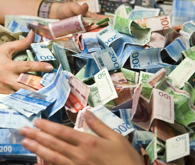 KOntant-ja: Det er ingen grunn til å akselerere utfasingen av slike ekte og tradisjonelle penger. arkivfoto: Magne Turøy