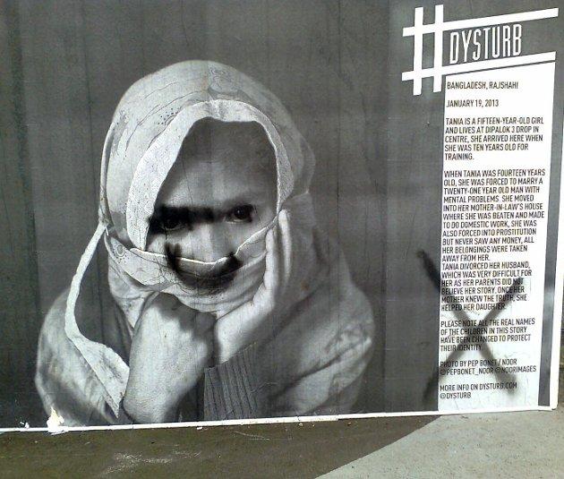 Hærverk: Leser raser mot tilgrisingen av veggavis-prosjektet i Horten.foto: privat
