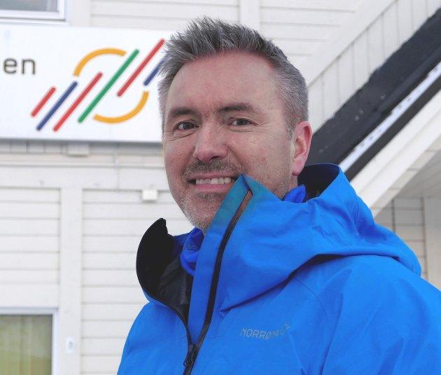 Eirik Palm, leder for kommunikasjon og samfunnskontakt i FeFo.