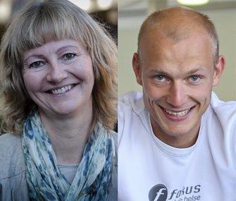 Benedicte Lund  og Kenneth Busch (Mijøpartiet de Grønne, Moss)