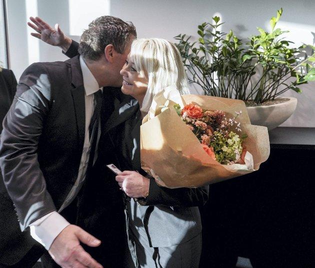 24. januar i år overtok Monica Mæland (H) jobben som justisminister etter Jøran Kallmyr (Frp), men heller ikke det hjalp for Bergen tingrett. Høyre har vist seg minst like glad i ostehøvel som Frp. Foto: Fredrik Hagen, FRP