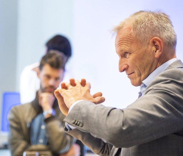 Direktør Eivind Hansen i Helse Bergen er frustrert over å ha lite kostnadskontroll over fritt behandlingsvalg. ARKIVFOTO: ANDERS KJØLEN