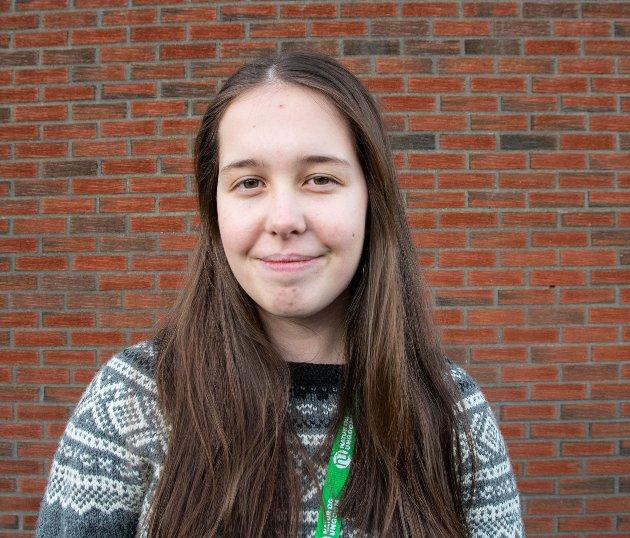 Kaja Nyland, leder i Nordland Natur og Ungdom