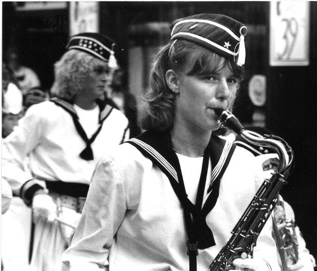 1988: Hammartun skolekorps, Lillehammer.