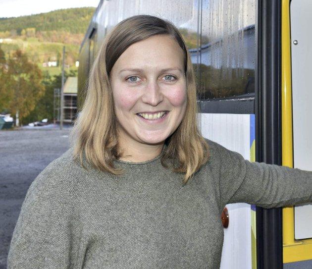 I mål: Ingrid Waagen er ferdig med sin første budsjetthøst som ordfører.Arkiv