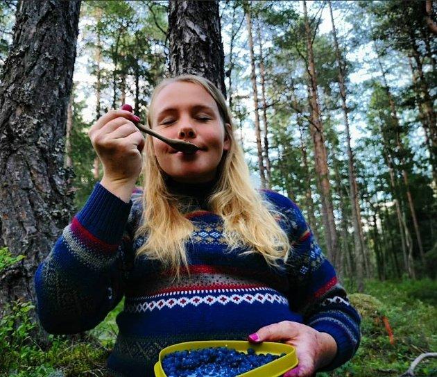 Trollmor trives i blåbærlyngen