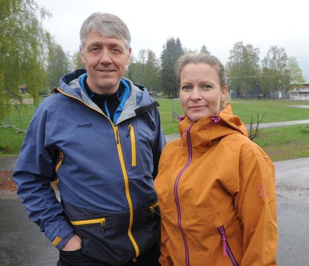 Listetoppene i Nittedal senterparti; Ketil Gundersen og Ida Eliseussen
