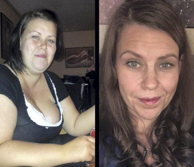 Jeanette (33) gikk ned 40 kilo på kort tid. Nå tar hun et oppgjør med stigmaet som hun mener overvektige blir utsatt for. FOTO: Privat