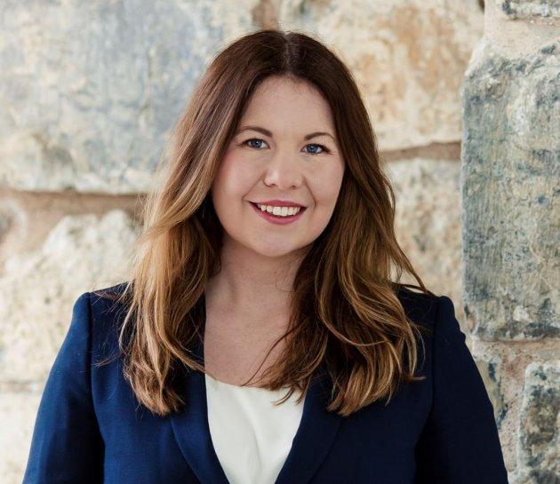 Maria Moe, 1.-kandidat for Kristelig  Folkeparti i Østfold