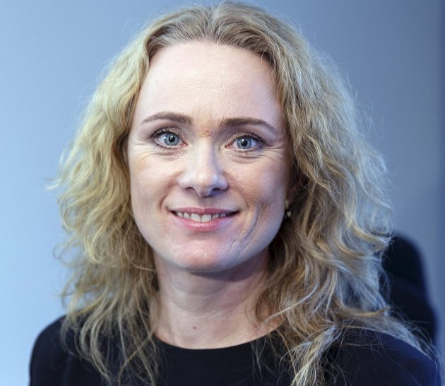 MINISTER: Arbeidsminister Anniken Hauglie (H) har fått bevegelse i spørsmålet om offentlig tjenestepensjon. ARKIVFOTO: GODM KALLESTAD, NTB SCANPIX