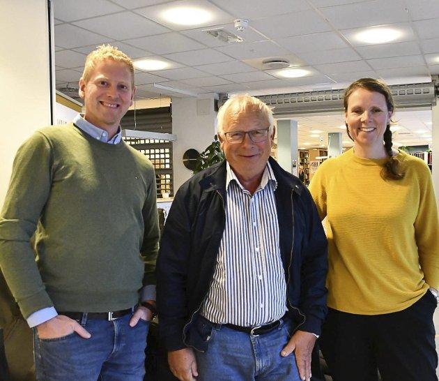Fikk aldri svar: Xtra-listas forhandlingsutvalg, fv Krister Moen, Rolf SIljedal og Ingeborg Marcussen Hübertz
