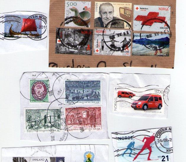 Ødelagte frimerker er dårlig nytt for filatelister.