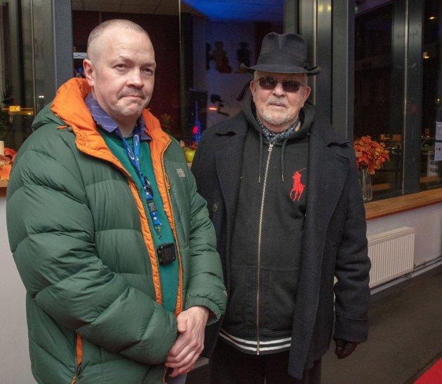 Berg: Andreas og Jan Berg gleder seg til filmfestivalene.