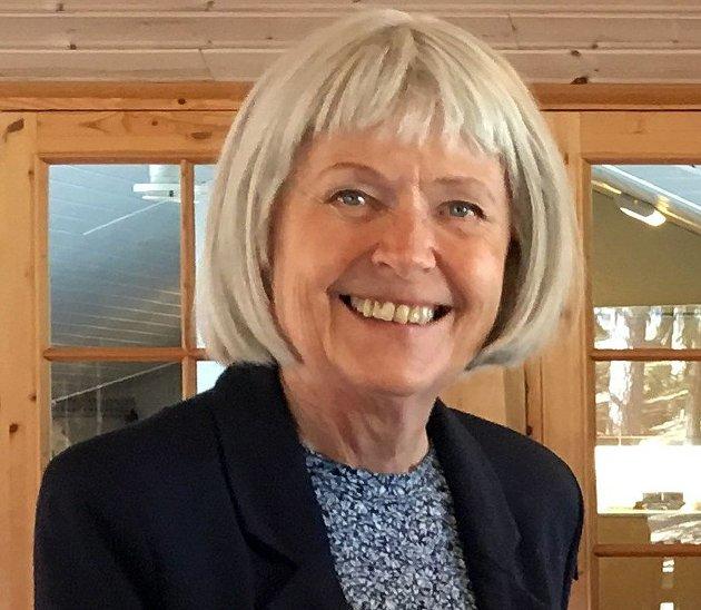 Foredragsholder Margit Harsson