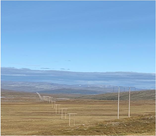 Dagens kraftledning mellom Lakselv og Adamselv er fra 1980-tallet og må fornyes for å sikre strømforsyningen til folk., skriver Statnett i dette innlegget