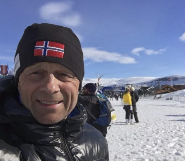 60 år: Martin Glomsrød er 60 år i dag torsdag.
