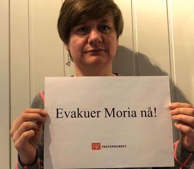 Helene Skeibrok, leder Fagforbundet Innlandet