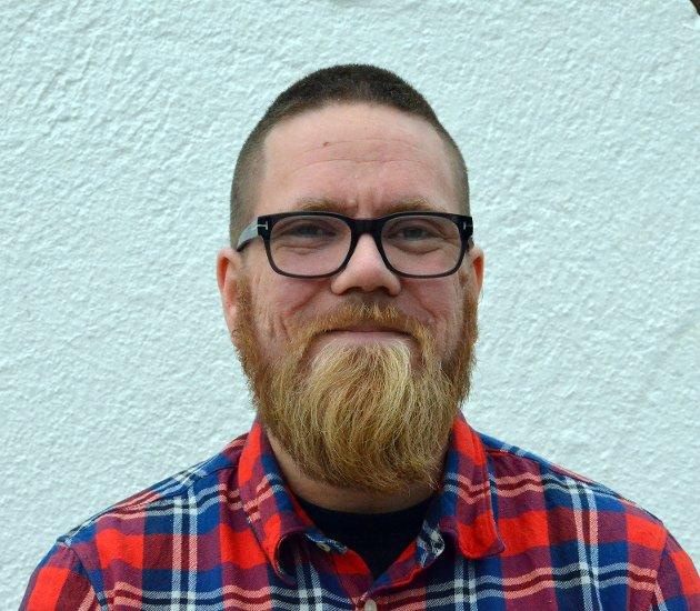 Lars Ivar Wæhre Lærer og 1. kandidat Rødt Finnmark