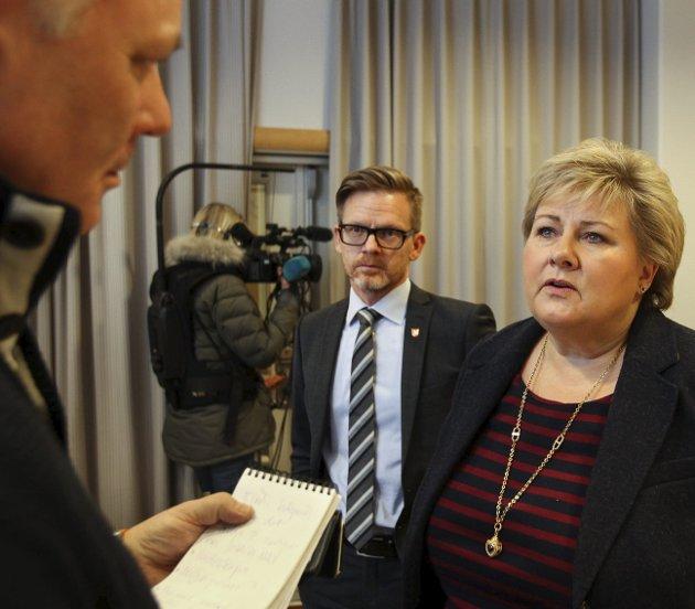 Erna Solbergs flertallsregjering er neppe et prosjekt for framtida, mener Gunnar Listerud.