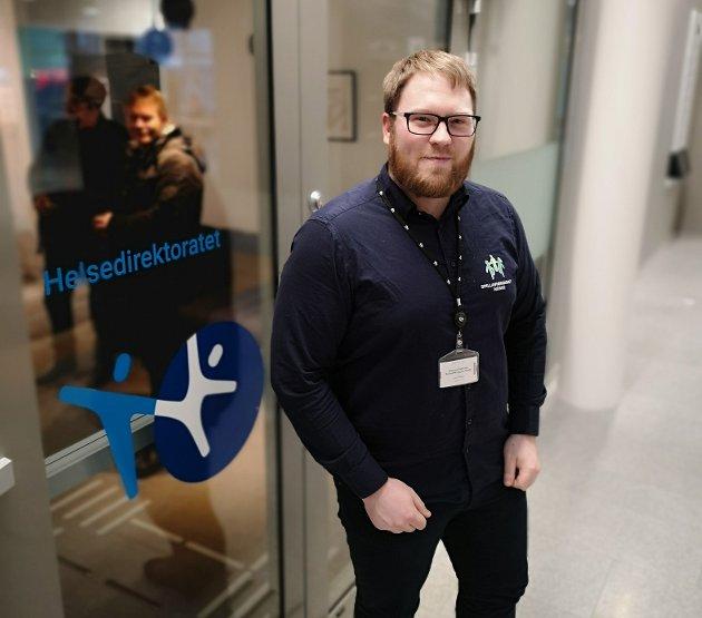 Magnus Pedersen, Politisk rådgiver i Spillavhengighet Norge