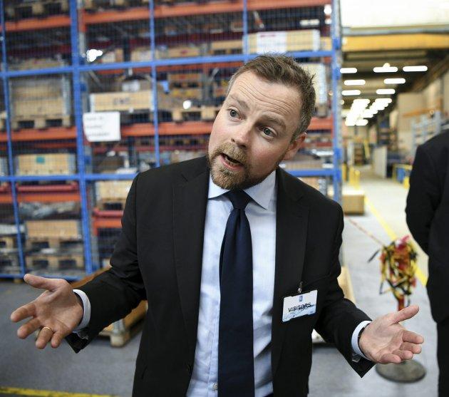 Arbeidsminister Thorbjørn Røe Isaksen (H) avsluttet streiken blant lærere og helsearbeidere med tvungen lønnsnemd. Streiken ble dermed langt mer mislykket for regjeringen enn for de streikende i Unio. Arkivfoto: Rune Johansen