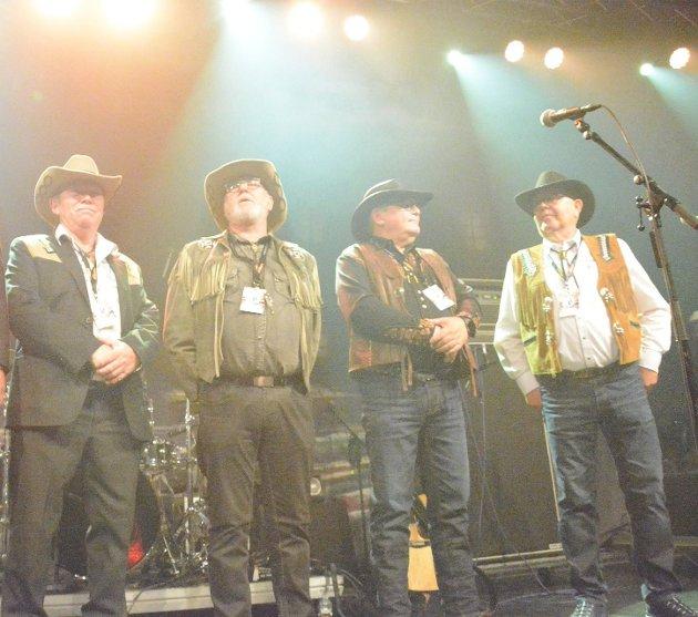SLUTTER: Lørdag var det klart at Stig Tore Johansen, Tore Solheim Trond Larsen og Magne Kjærstad gir fra seg ansvarert for Lofoten Countryfestival til IL Blest.