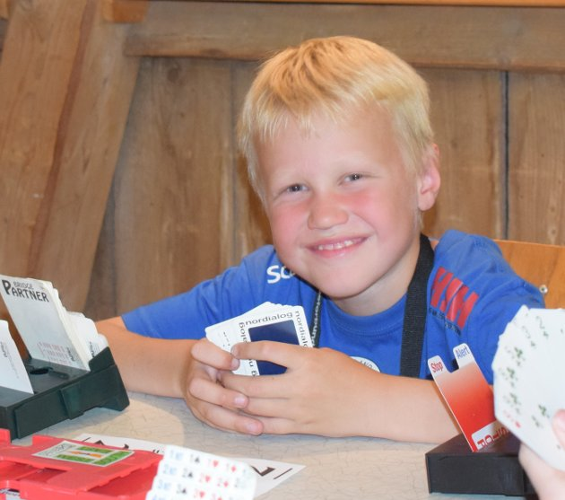 Sander Rødvann (Rana) har endelig fått gode kort på hånden.
