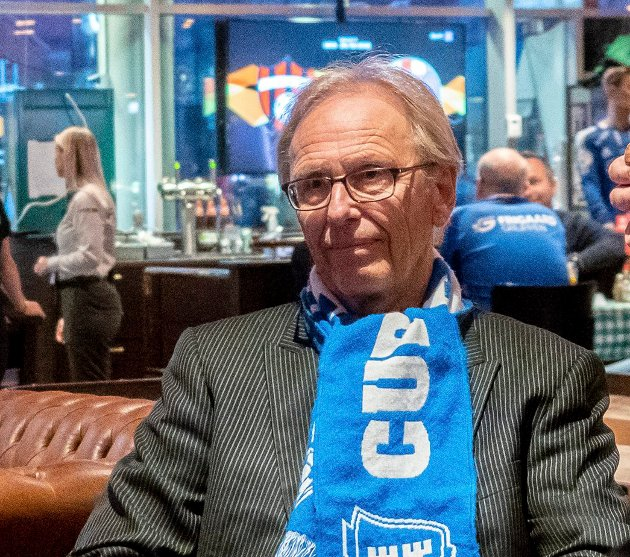 TRENING: Ole Werner Mathisen trøster seg med Sarpsborg 08-treninger når det ikke er kampaktivitet. I dag kan også sa.,tv-seerne se S08 trene på Stadion.