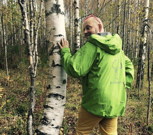 ÅRSMØTE: - Under Skogselskapets årsmøte i Jevnaker 15. august vil vi sette fokus på bioøkonomi, skriver Ola Gram Dæhlen (bildet) og Erik Eid Hohle i dette leserbrevet. Foto: privat