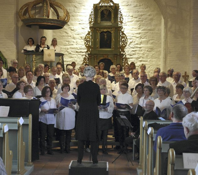 Raumklang og Opus 89: Kor og solister holdt konserter i Lillestrøm og Eidsvoll i helgen. Foto: Jan Rudolf Pettersen