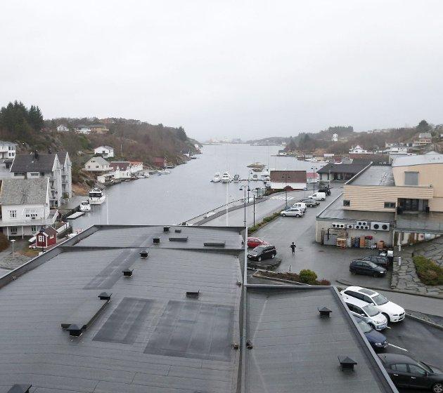 Særpreg: Det individuelle entreprenørskapet, som for eksempel  Eidesvik Offshore i Langevåg, er typisk for næringslivet på Bømlo. ARKIVFOTO: ALF-ROBERT SOMMERBAKK
