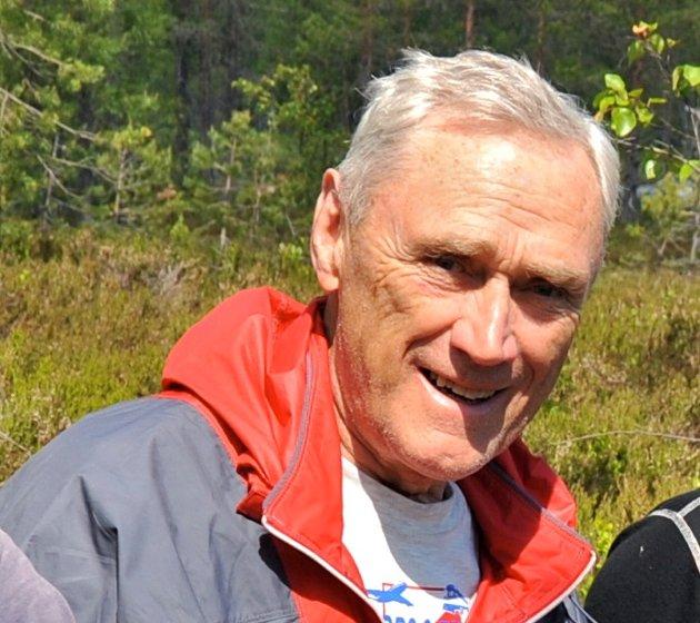 STIRYDDING I 2009: Arnfinn Sjønnesen ute i skogen der han trivdes aller best.