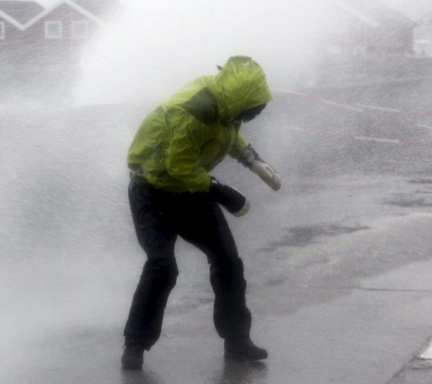 Januar 2020: Fylt av trøstesløst vær som ikke har noe med vinter å gjøre. Illustrasjon: Marius Helge Larsen/NTB Scanpix
