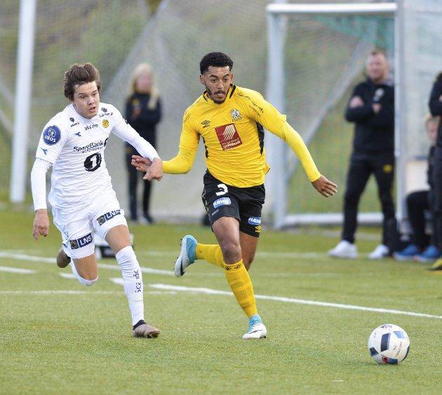 Spilleklar: Alexandre Pakutu er tilbake når Stålkam starter på andre halvdel av sesongen i Norsk Tipping-ligaen. Foto: Gøran O. Pedersen