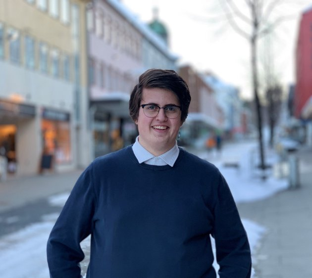 Mattis Månum Pettersen v/ Innlandet Unge Høgre