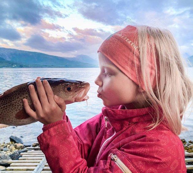VINNER NR 1: Spennende møte med selvfisket torsk.