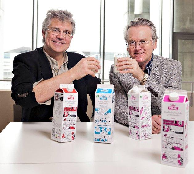 Arild Midthun og Gunnar Staalesens påskekrim på melkekartongene er historie. (Arkiv)