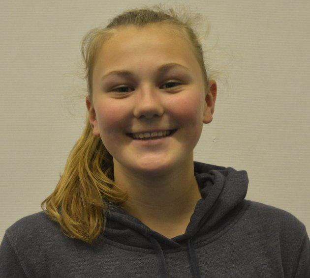Hanna Rustad (14): - Ja, jeg er feminist. Feminisme er likestilling, like muligheter og rettigheter for begge kjønn i samfunnet.
