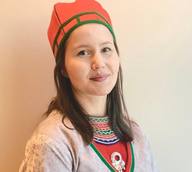 Maja Kristine Jåma, toppkandidat for NSR i sørsamisk valgkrets