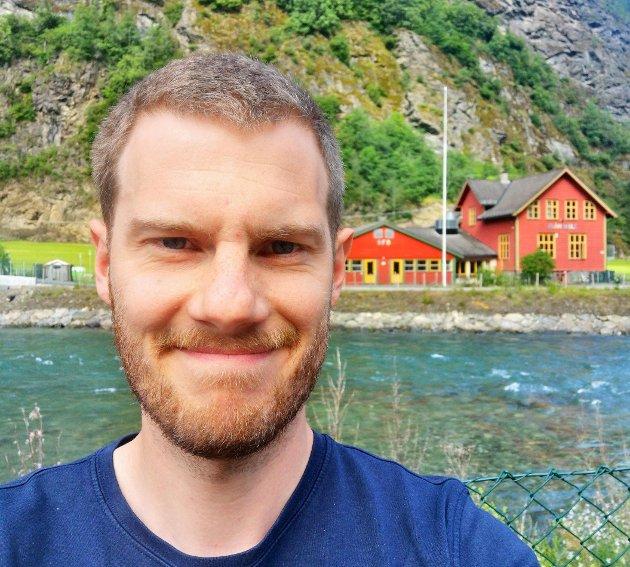David Underdal fungerer som ordførar i Aurland kommune.