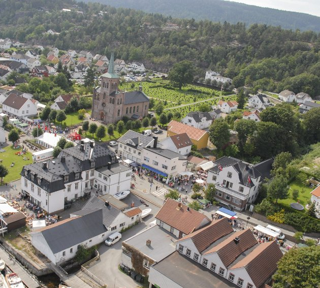BYHUSET: Et at stedene som er ønsket for nytt Byhus er i området SBV. Kinogården. Arkivfoto: Magne Mofossbakke