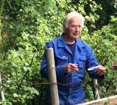Leif Steinhovden har gått bort, 87 år gammal.