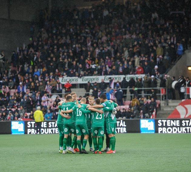 1000 haldensere samlet i Fredrikstad.