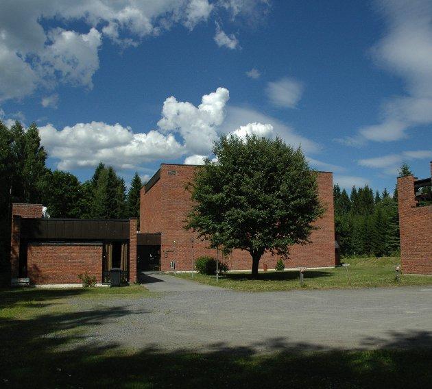 Hunn kirke:arkivbilde