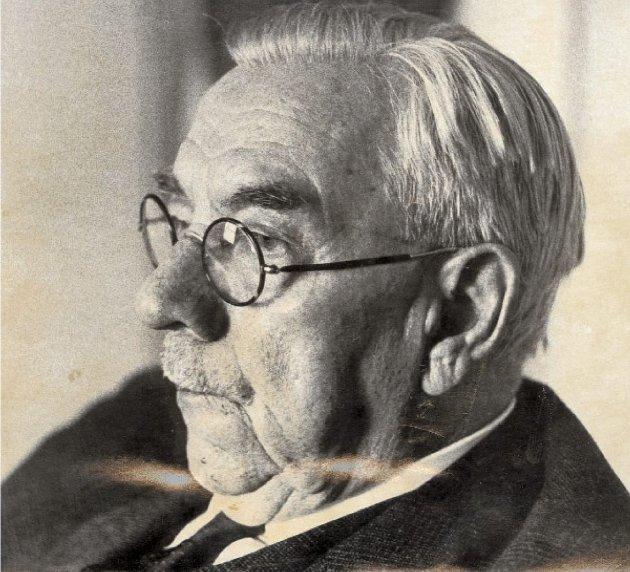 STREIKEGENERAL: Sigurd Simensen vakte stor oppmerksomhet med sin rolle i storstreiken i 1921. Her er han avbildet i sine eldre dager.